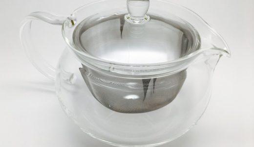 ハリオのガラス製急須(ティーポット700ml)を買った話。サイズ感、使用感など