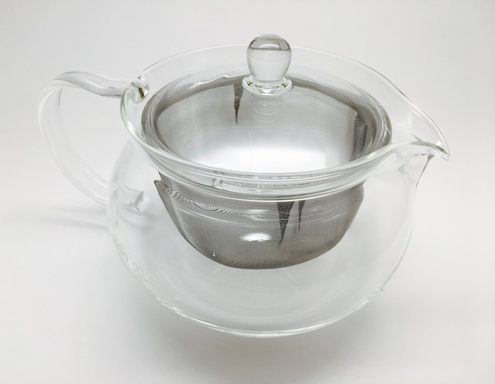 ハリオガラス製急須ティーポット700mlサイズ感使用感
